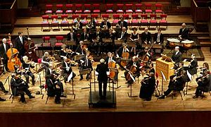 English: Orchestra of the 18th Century