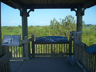 Pelican Island National Wildlife Refuge - Observation tower