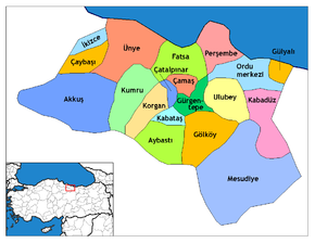 Ordu districts.png