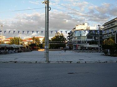Orestiada central square.jpg