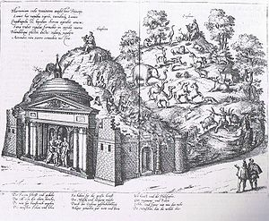 Origins of opera - Staging of Orpheus and Amphion for a princely wedding in Düsseldorf in 1585