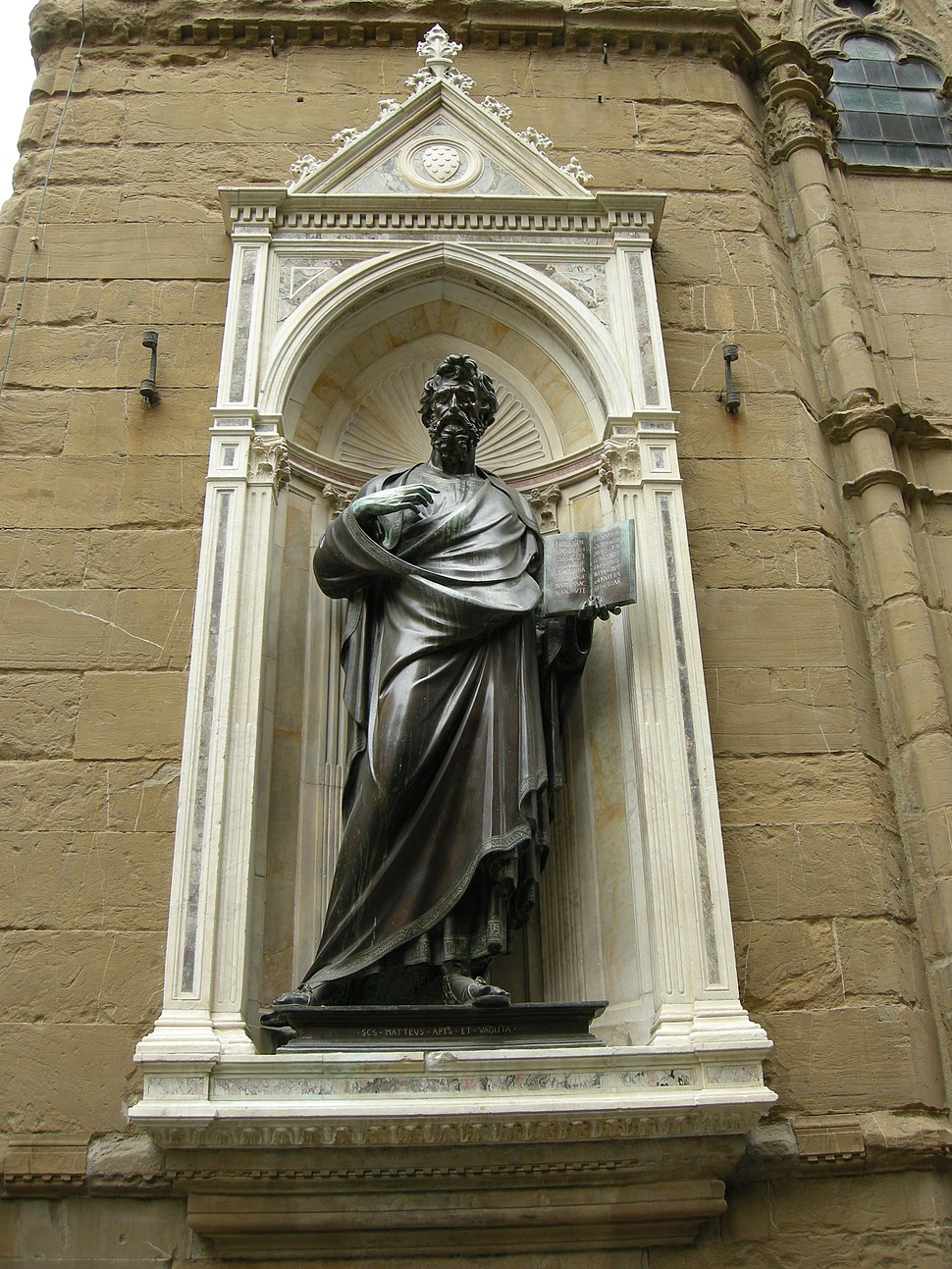 Orsanmichele, san matteo di Ghiberti 02