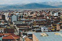 Vista panoramica de la ciudad de Oruro, sexta ciudad en población