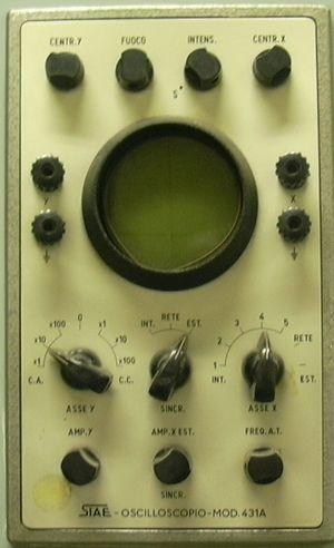 Siae Microelettronica - Image: Oscilloscope siae