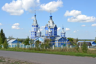 Gavrilovsky District - Wooden Church of the Theotokos of the Sign in Osino-Gay