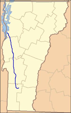 Otter Creek (Vermont) - Image: Otter Creek Loc