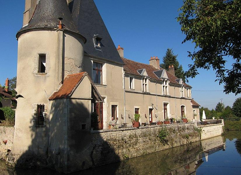 Our Gite in Burgundy, Château Gerigny