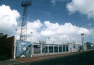 Victoria Park (Hartlepool) Football stadium in Hartlepool, Durham, England