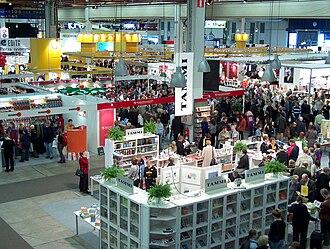 Helsinki Book Fair - Helsinki Book Fair in 2003.