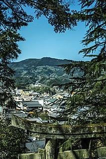Ōzu, Ehime City in Shikoku, Japan
