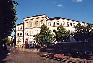 School named after Goethe PIR Goethe-Schule (01) 2005-09.JPG