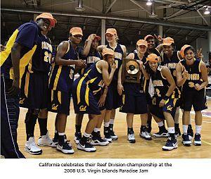 California Golden Bears women's basketball - California Team photo 2008, Paradise Jam Tournament winner