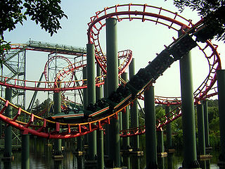 Anaconda (roller coaster) amusement ride