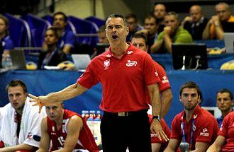 Dirk Bauermann - Bauermann with Poland in 2013
