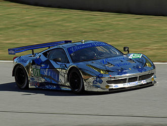 2012 Petit Le Mans - The GT class winners were Extreme Speed Motorsports.