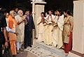 PM Modi visiting the Maa Anandmayee Ashram in Varanasi.jpg