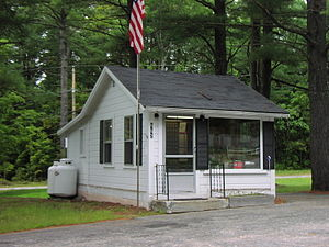 Tamworth, New Hampshire - Post Office in South Tamworth, NH