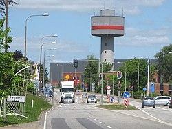 Padborg - Vandtårnet1.JPG
