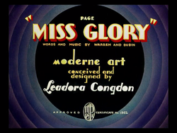 Page Miss Glory cartoon title card.png