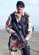 Pakistan ranger soldier