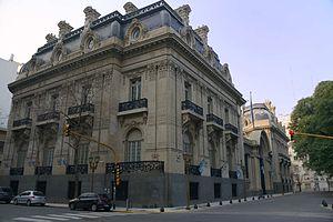 San Martín Palace - The San Martín Palace