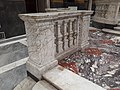Palazzo Ducale salone maggior consiglio - balaustra con colonne - foto 2.jpg
