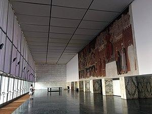 Palazzo dei Congressi - Image: Palazzo dei Congressi EUR Rome entrance hall