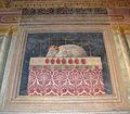 Palazzo medici-riccardi, anticamera della cappella dei magi, agnello pasquale di benozzo gozzoli.JPG