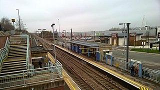 Pallion Metro station Tyne and Wear Metro station in Sunderland