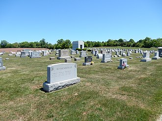 Palm, Pennsylvania - Image: Palm Schwenkfelder Cemetery, Palm PA