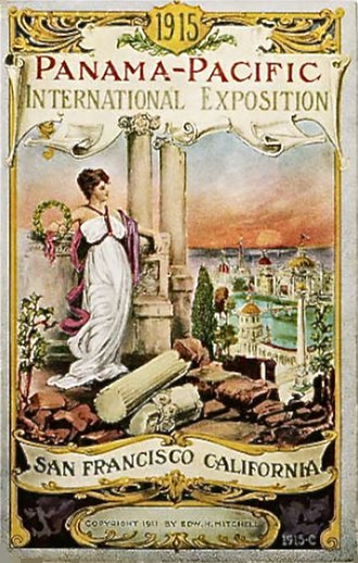 Panama–Pacific International Exposition - Poster for the exhibition
