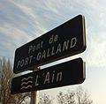Panneau du pont de Port-Galland.JPG