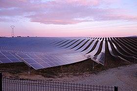 Parc de centrales photovoltaïques de la Colle des Mées : Capteurs solaires photovoltaïques