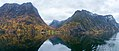 Panorama of Nærøyfjord - The world's most beautiful fjord (31942657021).jpg
