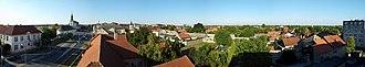 Stara Pazova - Panorama of Stara Pazova town