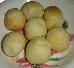 Cuñape muy consumido en el oriente boliviano