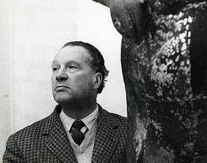 Marino Marini (sculptor) - Marino Marini, photo by Paolo Monti, 1958 (Fondo Paolo Monti, BEIC).