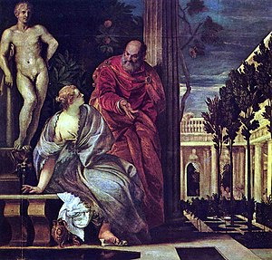 Bathsheba at her Bath (Veronese) - Image: Paolo Veronese 001