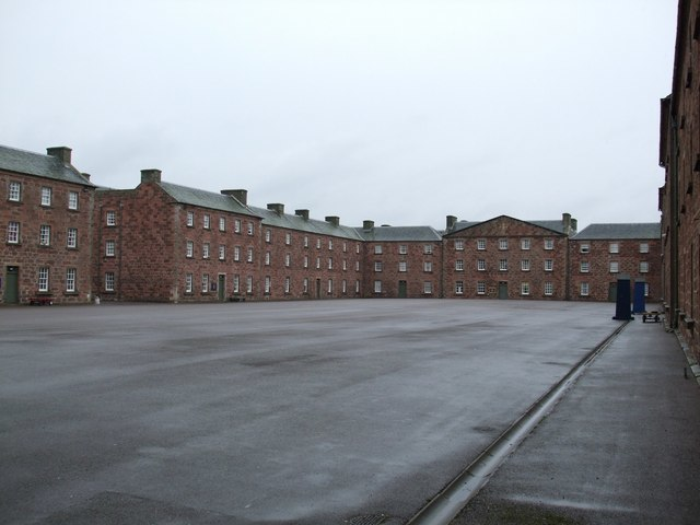 Parade Ground , Fort George - geograph.org.uk - 979337