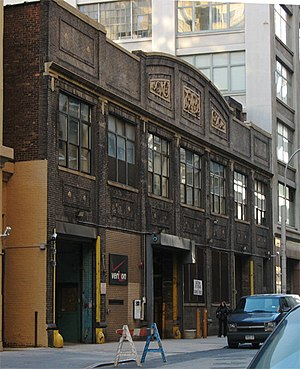House music - Building in New York City where the Paradise Garage nightclub was located