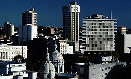 Skyline centrum Asuncion