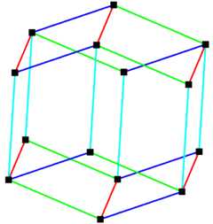 Parallelohedron edges rhombic dodecahedron.png