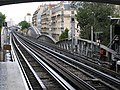 Paris Metro line 6 station Cambronne 20081001.jpg