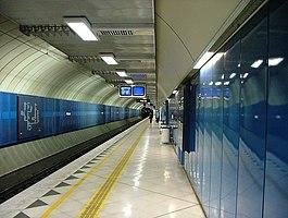 Parliament railway station
