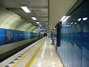 City Loop - Parliament Station platform