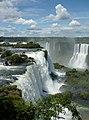 Parque Nacional do Iguaçu Cataratas do Iguaçu Garganta do Diabo vista superior.jpg