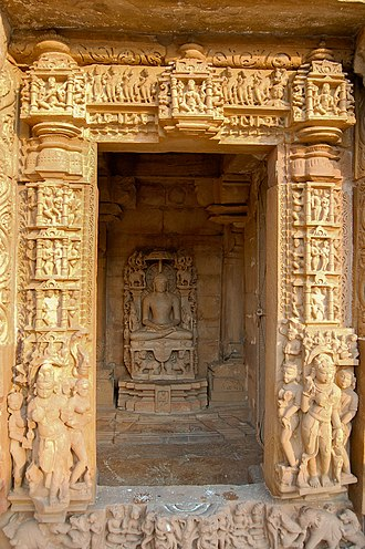 Parshvanatha temple, Khajuraho - Image: Parshwanath Temple Khajuraho 2