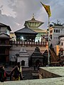Pashupatinath temple at dusk.jpg