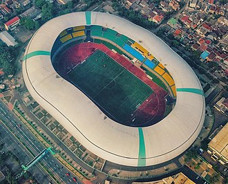 Indonesia national football team - Image: Patriot Stadium Bekasi (cropped)