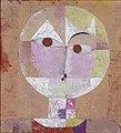 Paul Klee, 1922, Senecio, oil on gauze, 40.3 × 37.4 cm, Kunstmuseum Basel.jpg